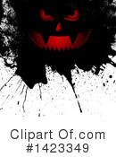 Royalty-Free (RF) Halloween Clipart Illustration #1423349