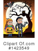 Halloween Clipart #1423549 by visekart
