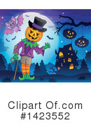 Halloween Clipart #1423552 by visekart