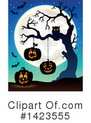 Halloween Clipart #1423555 by visekart