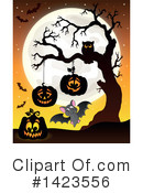 Halloween Clipart #1423556 by visekart