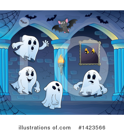 Haunted Hallway Clipart #1423566 by visekart