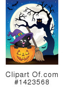 Halloween Clipart #1423568 by visekart