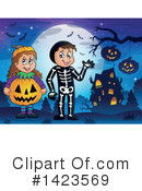 Halloween Clipart #1423569 by visekart