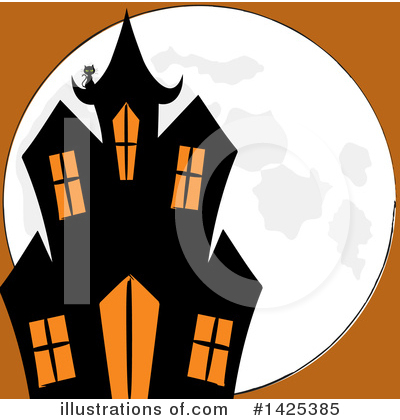 Halloween Clipart #1425385 by elaineitalia
