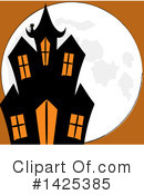 Royalty-Free (RF) Halloween Clipart Illustration #1425385