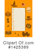 Royalty-Free (RF) Halloween Clipart Illustration #1425389