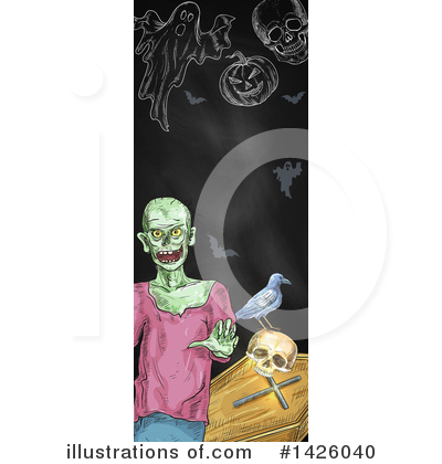 Royalty-Free (RF) Halloween Clipart Illustration by Vector Tradition SM - Stock Sample #1426040