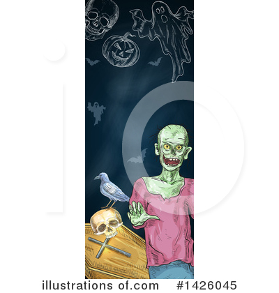 Royalty-Free (RF) Halloween Clipart Illustration by Vector Tradition SM - Stock Sample #1426045