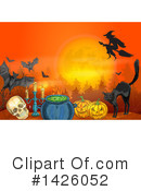 Halloween Clipart #1426052 by Vector Tradition SM