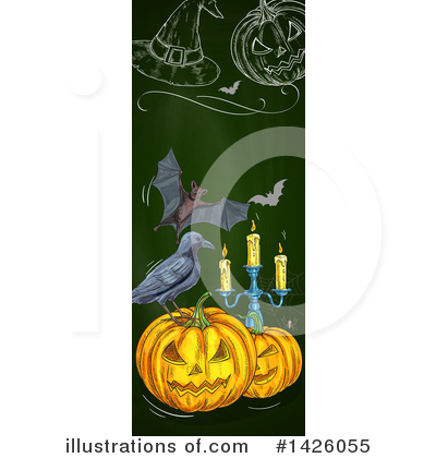 Royalty-Free (RF) Halloween Clipart Illustration by Vector Tradition SM - Stock Sample #1426055