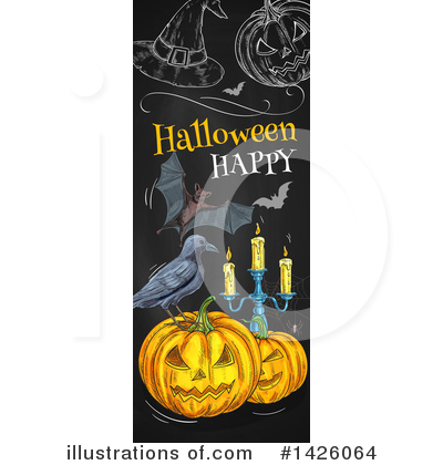 Royalty-Free (RF) Halloween Clipart Illustration by Vector Tradition SM - Stock Sample #1426064