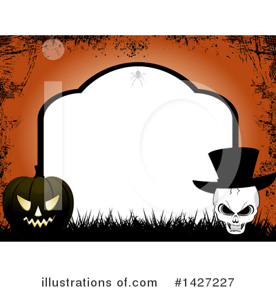 Royalty-Free (RF) Halloween Clipart Illustration by elaineitalia - Stock Sample #1427227