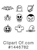Royalty-Free (RF) Halloween Clipart Illustration #1446782