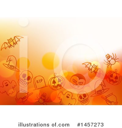 Royalty-Free (RF) Halloween Clipart Illustration by AtStockIllustration - Stock Sample #1457273