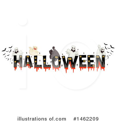 Halloween Clipart #1462209 by Graphics RF