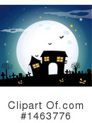 Royalty-Free (RF) Halloween Clipart Illustration #1463776