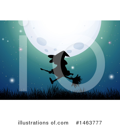 Witch Clipart #1463777 by Graphics RF