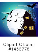Royalty-Free (RF) Halloween Clipart Illustration #1463778