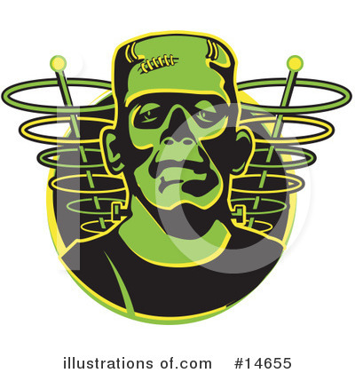 Frankenstein Clipart #14655 by Andy Nortnik