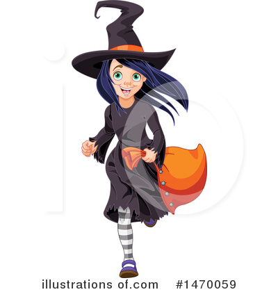 Witch Clipart #1470059 by Pushkin
