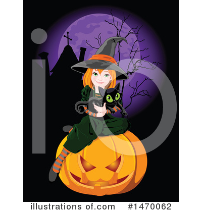 Witch Clipart #1470062 by Pushkin