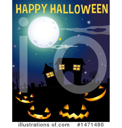 Haunted House Clipart #1471480 by Graphics RF