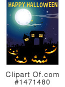 Royalty-Free (RF) Halloween Clipart Illustration #1471480