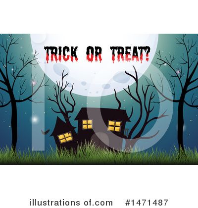 Haunted House Clipart #1471487 by Graphics RF