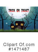 Royalty-Free (RF) Halloween Clipart Illustration #1471487