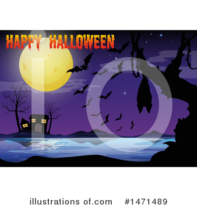 Haunted House Clipart #1471489 by Graphics RF