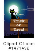 Royalty-Free (RF) Halloween Clipart Illustration #1471492