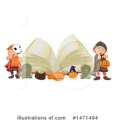 Halloween Clipart #1471494 by Graphics RF