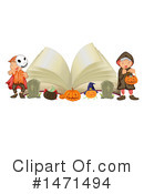 Royalty-Free (RF) Halloween Clipart Illustration #1471494