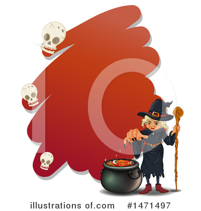 Witch Clipart #1471497 by Graphics RF