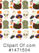 Royalty-Free (RF) Halloween Clipart Illustration #1471504
