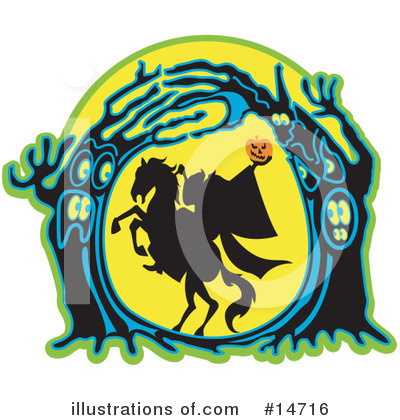 Headless Horseman Clipart #14716 by Andy Nortnik