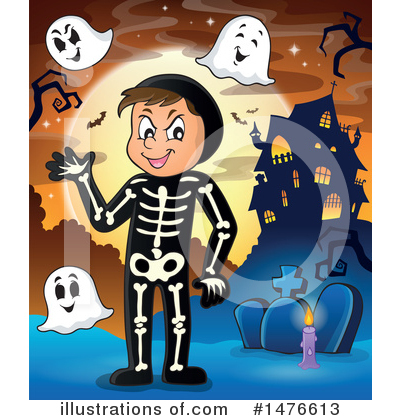 Haunted House Clipart #1476613 by visekart