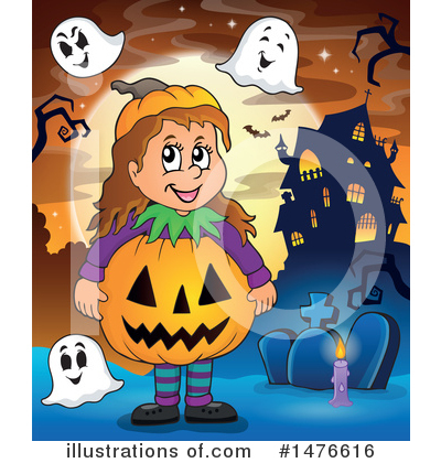 Haunted House Clipart #1476616 by visekart