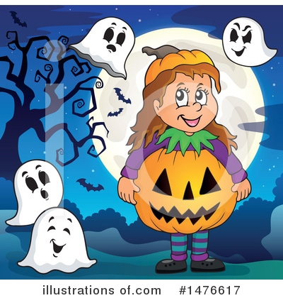 Ghost Clipart #1476617 by visekart