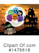 Halloween Clipart #1476618 by visekart
