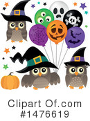 Halloween Clipart #1476619 by visekart