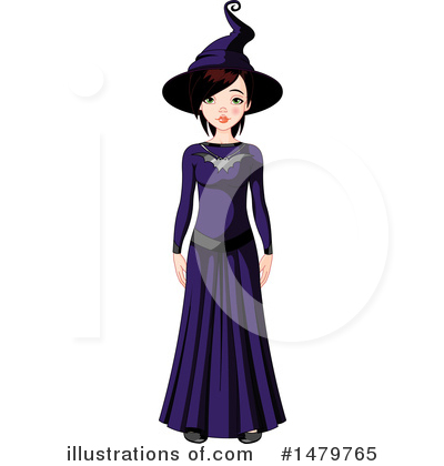 Witch Clipart #1479765 by Pushkin