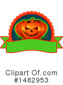 Royalty-Free (RF) Halloween Clipart Illustration #1482953