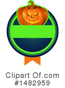 Royalty-Free (RF) Halloween Clipart Illustration #1482959