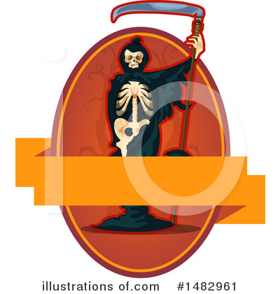 Grim Reaper Clipart #1482961 by Vector Tradition SM