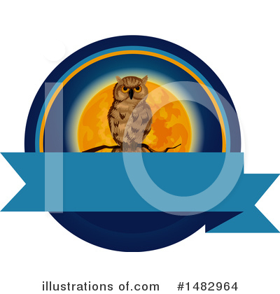 Owl Clipart #1482964 by Vector Tradition SM