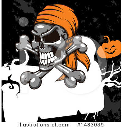 Royalty-Free (RF) Halloween Clipart Illustration by Vector Tradition SM - Stock Sample #1483039