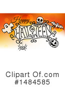 Royalty-Free (RF) Halloween Clipart Illustration #1484585