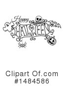 Royalty-Free (RF) Halloween Clipart Illustration #1484586
